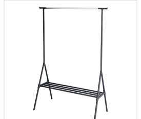 Free-standing clothes rail
