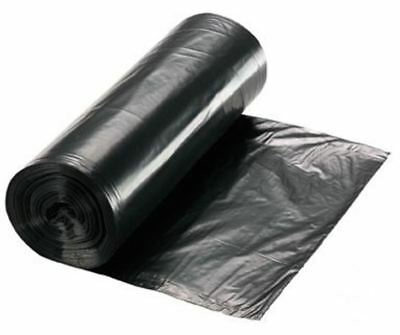 CLEARLY EXTRA HD BLACK SACKS ON A ROLL EVERYDAY HEAVY DUTY REFUSE SACK x 100