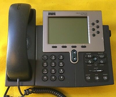 Lot Of 18 Cisco Ip Phone 7960 Series Model Cp-7960g Voip Business Phones