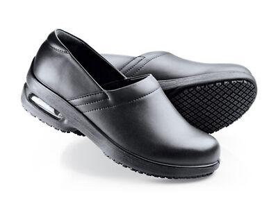 SFC Shoes for Crews Air Clog Black Men's Shoes 8070 Size 12 / 46 $69