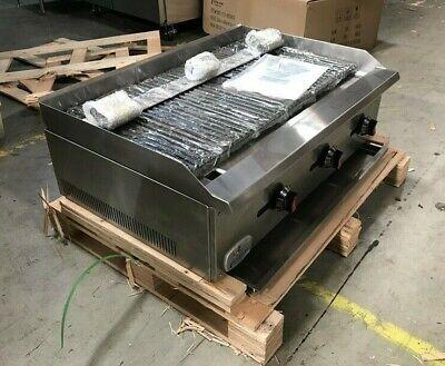 36 Radiant Char Broiler Grill Steak Shrimp Fish Poultry Commercial Countertop