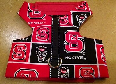 NC State fabric Pet Dog homemade Harness vest S(365-366)