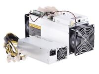 Antminer S9 14Th/s with power supply for sale. Just arrived in UK, Brand New in box