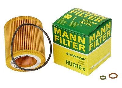 MANN HU816X Engine Oil Filter for BMW NEW