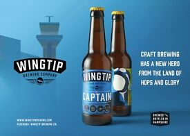 WINGTIP BREWING - ARE LOOKING FOR DRIVERS / DELIVERY TEAM