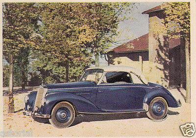 Mercedes - Benz 220 CABRIO A * w 187 * 1951 * orig. Color - Sammelbild online kaufen