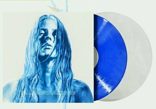 """Ellie Goulding """"Brightest Blue"""" Blue & Clear Colored Vinyl LP Free Shipping 2020"""