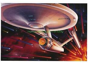 STAR TREK 25TH ANN. MOVIE POSTER ENTERPRISE STYLE RARE!
