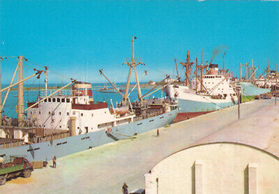 CYPRUS POSTCARD FAMAGUSTA THE HARBOUR BY IOANNIDES