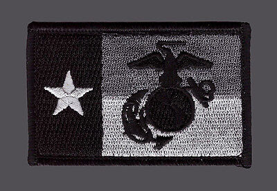 MARINE TEXAS STATE FLAG MARINE CORPS USMC  TACTICAL MORALE ACU HOOK PATCH