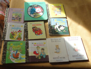 books 10 small books including 2 BEATRIX POTTER