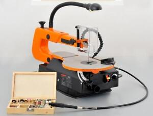 TECHTONGDA Two-direction Variable Speed Scroll Saw With Flexible LED Light(220v) 024313