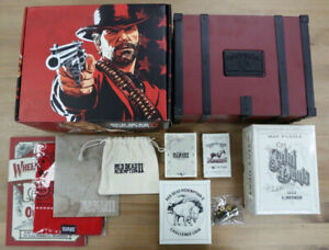 Red Dead Redemption Collectors Box Ps4