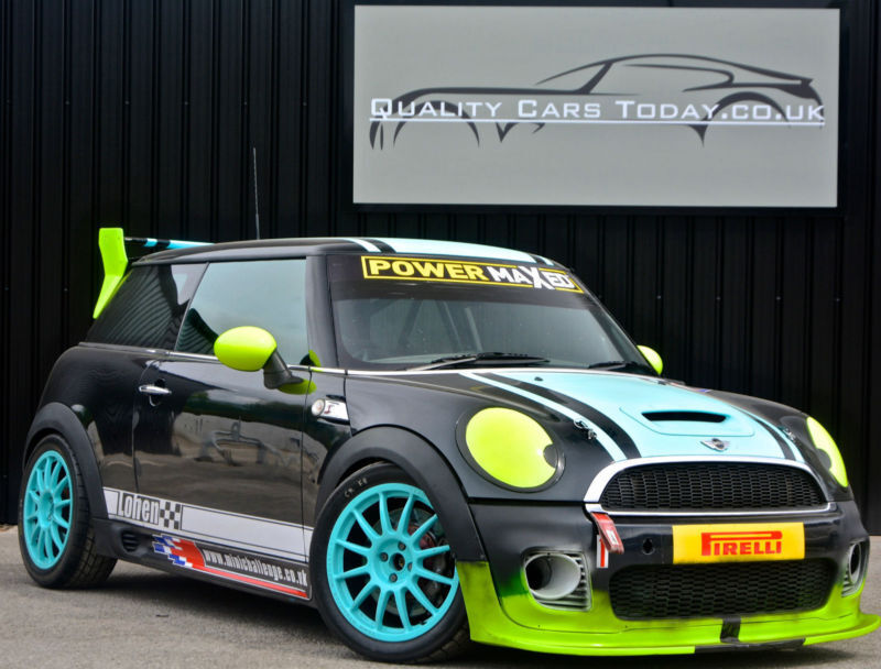 Mini R56 Challenge Race Car John Cooper Works Jcw Track Car Race