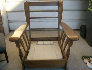Solid Maple roching chair