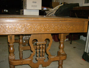 Antique dining table Peterborough Peterborough Area image 2