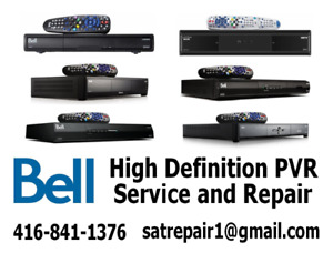 Bell HD Satellite PVR Receiver Repairs 9400-9242-9241-6400-6131