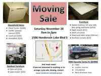 MOVING SALE Next Saturday 28th Nov from 9 to 3