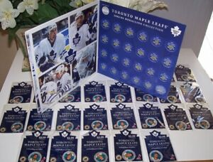 Toronto Maple Leafs 2002 2003 Medallion Collection Set