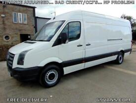 2009 59 VOLKSWAGEN CRAFTER LWB, ## ONLY 78000 MILES FROM NEW ##, F.S.H.