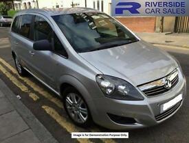 2013 Vauxhall Zafira 1.6i [115] Design Nav 5dr 5 door MPV