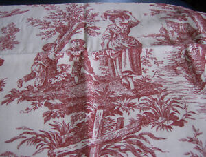 French Toile Valance
