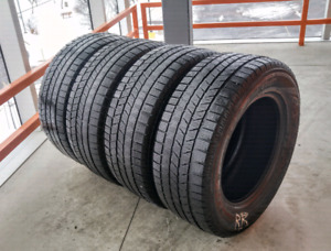 Set of four 255/60/17 Pirelli Scorpion winter tires.(235/65/17)
