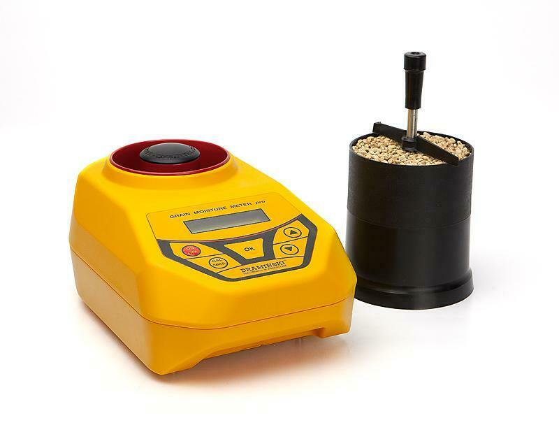 GMDM - a grain moisture and density meter