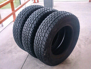 Sets of 205/70/15, 195/55/15 winter tires