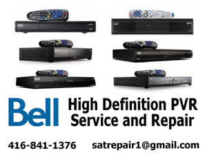 Bell HD Satellite PVR Receiver Repairs Free Estimate