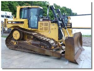 CAT D6R XL III CRAWLER TRACTOR (2006) - COMPLETE NEW U/C