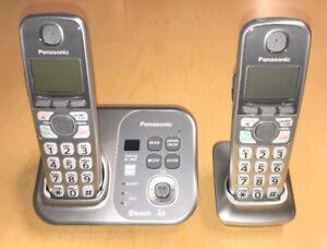 Panasonic Système Téléphone Sans Fil (Cordless Phone System)