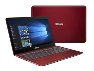 RED ASUS LAPTOP - Intel i5 @2.5GHz, 8GB RAM, 1 TB HDD