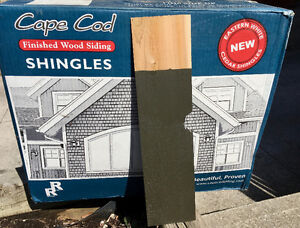 Cape Cod Cedar Siding Shingles, 10 boxes, 250+ sq ft, save $700