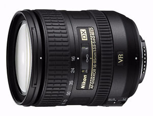 Nikon 16-85mm lens and filters