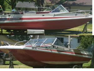 1975 Caravelle Bow Rider 17' and Trailer AS-IS
