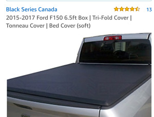Tonneau cover for ford f150