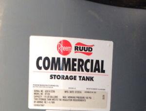 NEW RHEEM RUDD Commerical Storage Tank. Model - ST120 Mfg 07/16