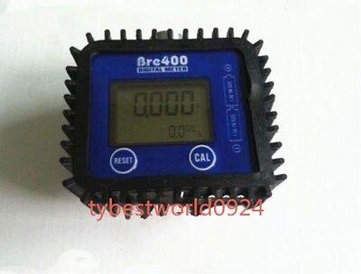 New 1pc 12 Fuel Diesel Gasoline Kerosene Oil Oval Gear Flow Meter