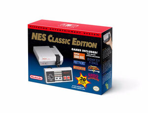 NES Classic Edition Brand New Discontinued
