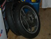 RZ350 Wheels with New and Never Used Tires Installed