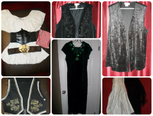 Adult Halloween Costume Pieces - Plus Size Vests
