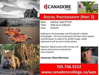 Digital Photography (Part 2), Canadore College, Parry Sound