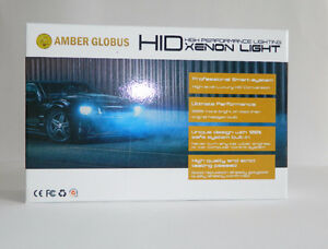 Amber Globus  H11 H1 9005 9006 AC Xenon Hid conversion kit $65
