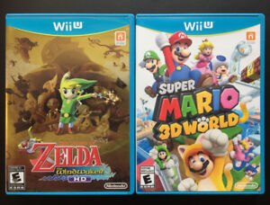 Zelda: Wind Waker HD & Super Mario 3D World