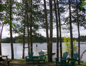 Rustic Lakefront Family Camp for rent by the week