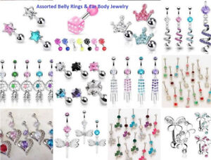 Huge Lot of New Body Jewellery - All Types