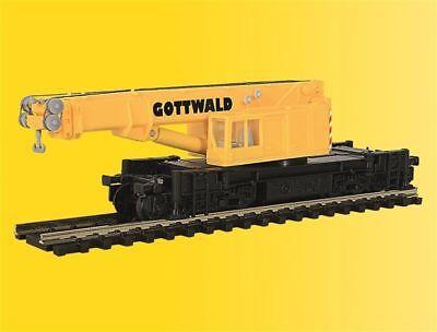 Kibri N 19600 GOTTWALD Eisenbahn-Teleskopkran GS 100.06 T Bausatz Messepreis Neu ()