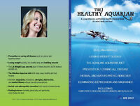 Book: The Healthy Aquarian; prevent/cure cancer, build muscle