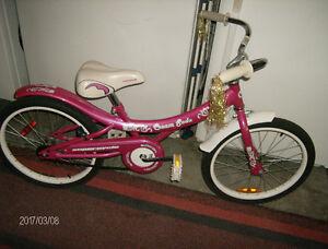 Vélo pour fille 20 po